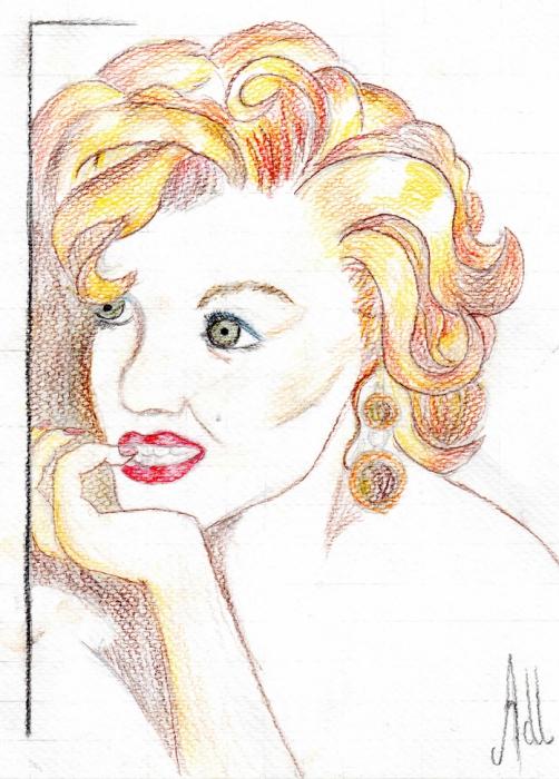 Marilyn Monroe by signe.adl